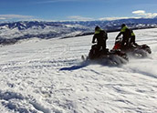 Pure Powder: Snowmobiling in Colorado
